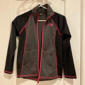 The north face girls jacket m 10-12